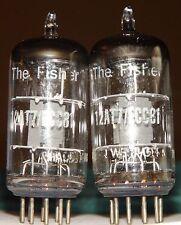 2 Fisher Telefunken Ecc81 12at7 Vacuum Tubes <>