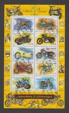 France - Bloc feuillet oblitéré - Motos - N° 51 (3508 à 3517) -TB