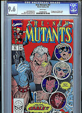 Marvel Comics New Mutants #87 CGC 9.6 NM+ 1990 1st Cable A16