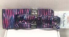 Preferred Plus Pharmacy Reading Glasses +2.75 Power Violet