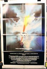 Superman Original Movie Poster - Super Hero - Brando - Reeve - 1978 - Fine