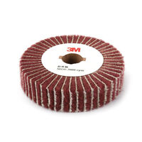 "4""~12"" Non-woven Abrasive Grinding Flap Polishing Wheel Remove Rust 320 Grit 1Pc"