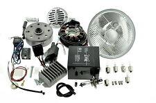 Umbausatz Zündung Vape, Powerdynamo ETS TS 125 150 komplett mit Reflektor H4