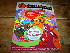 Vintage Kay beginners edition Mod psych Guitar Songbook w/ instructional 45 Nm-