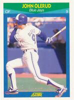 John Olerud 1990 Score Rising Stars #39 Toronto Blue Jays RC Rookie card