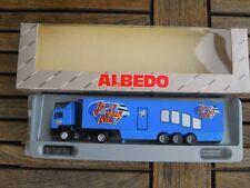 """Albedo 800009 MAN F90 Fv KoSzg 2/3 ARD Show """"Jetzt oder nie """"1:87 wie neu in OVP"""