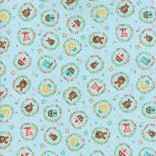 Moda tessuto HOME SWEET HOME ZorG Story Sky-per 1/4 METRI