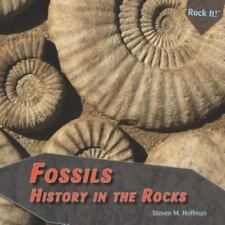 Fossils: History in the Rocks (Rock It!)-ExLibrary