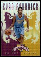 2012-13 Panini Crusade Insert Purple #23 Evan Fournier /49