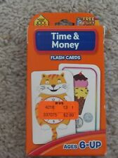 School Zone Time & Money Flash Cards
