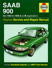 Saab 900 / Turbo 1993-1998 - Reparaturanleitung Handbuch workshop repair manual