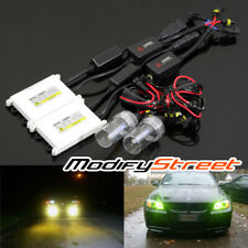 H10/9140/9145/9040 3000K YELLOW CANBUS BALLAST XENON HID FOG DRIVING LIGHTS KIT