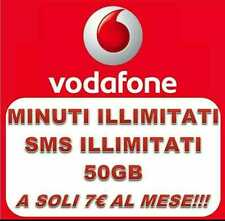 PASSA A VODAFONE SPECIAL DIGITAL EDITION 50 GB/7€ + SIM GRATIS 1° MESE INCLUSO