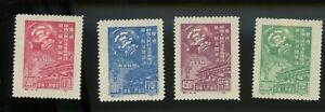 North east PR China 1949 C1NE Political Conference ORIGINAL Type I, MH