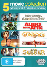 Percy Jackson + Aliens in The Attic + Eragon + Night at The Museum + Seeker DVD