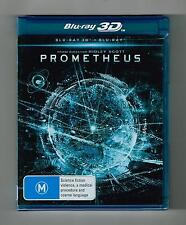 Prometheus - 3D Blu-ray + Blu-ray 2-Disc Set Brand New & Sealed