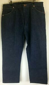 Wrangler Mens Jeans - As New - 13MWZ Rigid Indigo Size 38 36