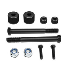 """Fit 2005-2017 Toyota Tacoma 4WD/AWD Black 1""""Front Differential Drop Kit Spacers"""