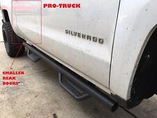 07-18 GMC SIERRA DOUBLE CAB 2 FULL DOORS & 2 SAMLLER DOORS SIDE STEPS NERF BARS