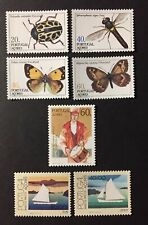 Portugal 1985 - Azores stamps Insects, Boats, Europa CEPT MNH