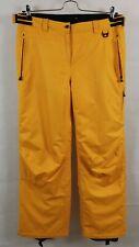 ICEPEAK Trousers Snowboarding Pants Ski Skiing Womens Yellow Ladies Size 16 / 42