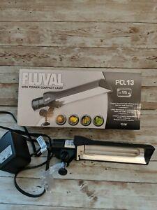 FLUVAL PCL 13 Compact Florescent Lamp Aquarium Fish Tank Fresh Salt Planted Nano