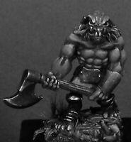 1 x BULL ORC BERSERKER - WARLORDS REAPER miniature d&d jdr rpg 2H axe 14404l