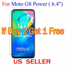 1x Clear LCD Screen Protector Guard Cover Film For Motorola Moto G8 Power (2020)