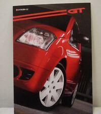 Citroen C2 GT UK Sales Brochure Dated 2003 Good Condition