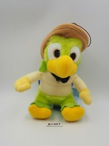 "Jose Carioca B1307 Disney SEGA Plush 6"" TAG Stuffed Toy Doll Japan"