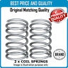 REAR LEFT AND RIGHT COIL SPRING FOR MAZDA OEM QUALITY RH7001