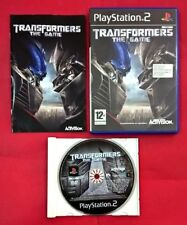 Transformers: The Game - Playstation 2 - PS2 - USADO - BUEN ESTADO