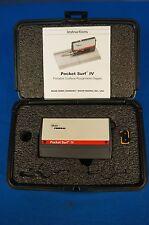 MAHR Pocket Surf IV/Surface Finish/Roughness/Tester/Profilometer 90 Day Warranty