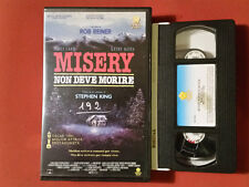 Misery non deve morire (1991) Stephen King - VHS 1° Ed. Penta Video