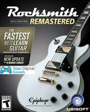Rocksmith 2014 Remastered PC [BRAND NEW,REGION FREE STEAM KEY]  [No Cable]