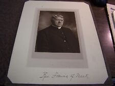 VINTAGE - REV. FRANCIS J. MACK - OLD FORGE PA -  PHOTO - SCHREIVER - SCRANTON PA