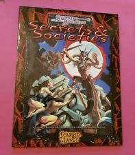 SECRETS & SOCIETIES - RPG SCARRED LANDS DND D&D 3RD SWORD & SORCERY ROLEPLAY WW