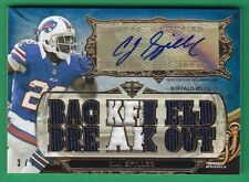 2013 Topps Triple Threads C.J. SPILLER AUTOGRAPH PATCH  Bills *RARE 3/3