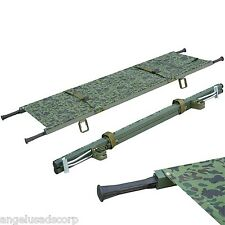 Medical Stretcher Foldaway Aluminum New Camouflage Emergency Equipment Ambulance