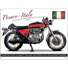 "Benelli Tornado 650 Motorbike ""One Of the Oldest Italian..."" metal sign   (rh)"