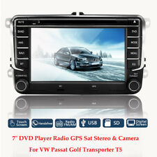 Car DVD Player Radio GPS Sat Nav Stereo Camera For VW Golf MK5 MK6 Jetta Passat