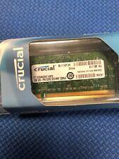 Set of 2 CT12864AC667.K8F8 CRUCIAL LAPTOP MEMORY 1GB 200-PIN DDR2