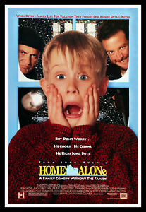 Home Alone Movie Poster Print & Unframed Canvas Prints
