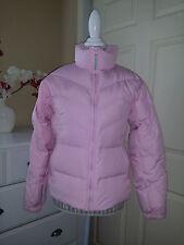 Columbia Sportswear Co. Light Pink 60% Down Insulated Puffer Zip Jacket Sz. M