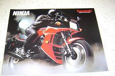 Kawasaki 1985 Ninja ZX900 - A2, NOS  Sales Brochure 8 Pages
