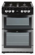 New World 551GTC 55cm Twin Cavity Gas Cooker Variable Gas Grill & Hob St/St