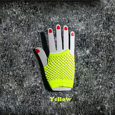 Hot Fishnet Gloves Fingerless Wrist Women Lady Costume Party Nightclub Dance New
