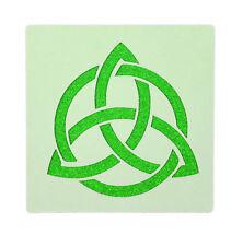 Triquetra Celtic Knot Stencil 190 Micron Mylar Washable Reusable 10 x 10cm