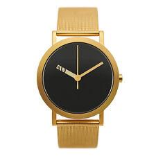 "Normal Timepieces ""Extra Normal Grande"" Quarzo Acciaio Oro Maglie Orologio Uomo"