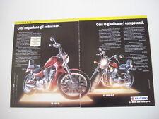 advertising Pubblicità  1992 MOTO SUZUKI VS 800 GL/VS 1400 GLP